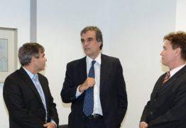 Presidente Joás de Brito recebe visita  do ex-ministro José Eduardo Cardozo