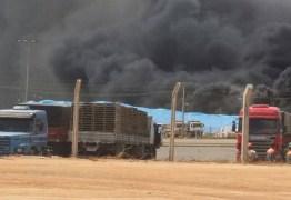 Fábrica de cimentos emite nota sobre incêndio que aconteceu neste sábado