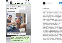 Filho de Ronaldo Fenômeno usa as redes sociais para reclamar dos fãs do pai