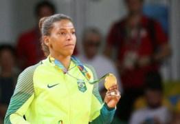 Rafaela Silva é eleita judoca do ano por Comitê Olímpico