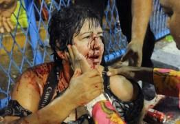 Acidente grave deixa 20 feridos no desfile da Paraíso do Tuiuti no Rio