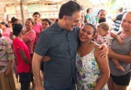 Luciano visita comunidade neste sábado e é recepcionado com café