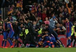 Barça pode ser punido por invasão dos torcedores no campo