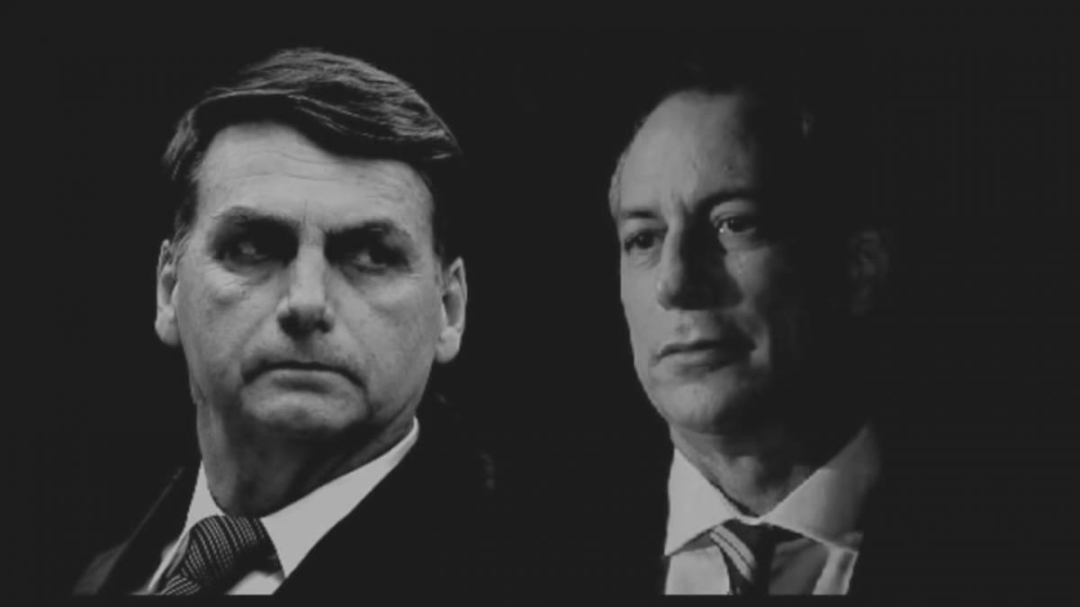 cirobolsonaro2 - Crescimento de Bolsonaro e Ciro nas pesquisas assusta investidores e poderá causar fuga em massa no mercado financeiro
