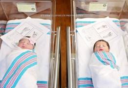 Romeo e Juliet nascem em mesmo hospital dos EUA
