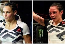 Vídeo: sueca vence mas deixa UFC de ambulância