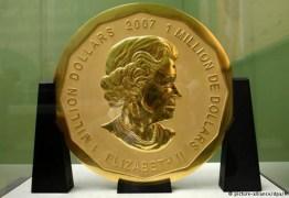 Polícia de Berlim prende suspeitos de roubo de moeda de ouro de US$ 4 milhões