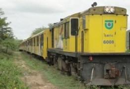Trens podem voltar a circular entre mais cidades paraibanas em breve