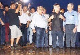 Ministro Helder Barbalho se reúne em comitiva com senadores e deputadores paraibanos para visita técnica no açude Boqueirão