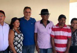 Cartaxo se encontra com agricultores do projeto Cecaf em Jacaraú