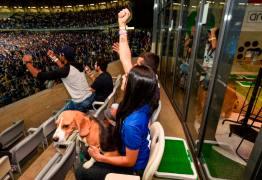 ARCÃOBANCADA: Estádio Mineirão cria espaço para torcedores e seus amigos de quatro patas