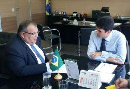 Rômulo busca recursos para a Paraíba em audiência com ministro