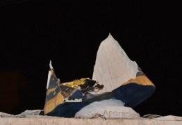 Empresário promete reconstruir estátua de Nossa Senhora em Cajazeiras