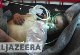 VEJA VIDEO: Ataque químico na Síria causa dezenas de mortes