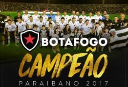 Botafogo é campeão paraibano de 2017