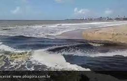 VEJA O VÍDEO: População denuncia despejo de esgoto no Mar dos Macacos, em Intermares