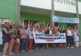 Servidores municipais da saúde de Cajazeiras fazem nova paralisação cobrando reajuste salarial