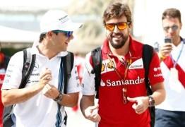 Felipe Massa defende opção de Fernando Alonso de correr na Indy 500