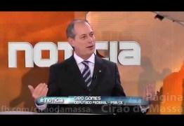 """POLÊMICA: O presidente do IBOPE vende até a mãe para ganhar dinheiro!"""", diz Ciro Gomes –  VEJA VÍDEO"""