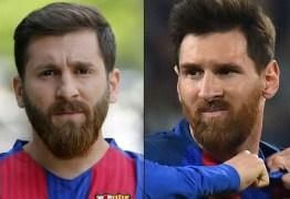 Surpreendente semelhança entre Lionel Messi e sósia causa confusão no Irã