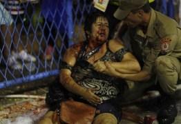 Vítima de acidente na Sapucaí no carnaval piora e está em estado grave
