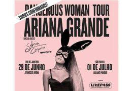 Ariana Grande retoma turnê após ataque e confirma shows no Brasil