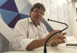 MANDATO TAMPÃO: João Azevedo comenta tese sobre assumir governo estadual por via indireta