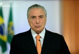 Michel Temer diz que Brasil está saindo de crise severa