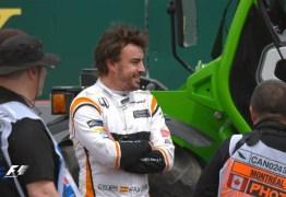 Fernando Alonso volta a ter problemas durante primeiro treino na Fórmula 1