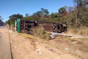 andré amaral 3 300x200 - Acidente envolvendo ônibus deixa mortos e feridos na BR-135