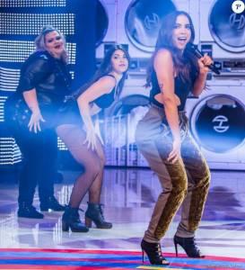 anitta apresenta paradinha pela primei  273x300 - Dançarina Plus Size de Anitta chama atenção durante primeira apresentação na TV