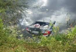 TRAGÉDIA: Três mulheres e uma criança morrem após carro cair em açude no interior