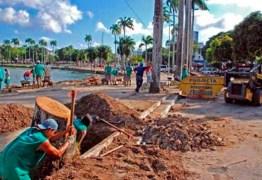 Justiça quebra sigilo das investigações sobre irregularidades nas obras da Lagoa