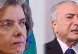 ESPIONAGEM CONTRA FACHIN:  Carmén Lúcia emite nota duríssima contra Michel Temer