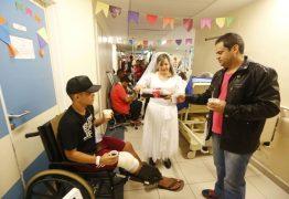 Festa junina em ala de ortopedia do Hospital de Base alegra pacientes