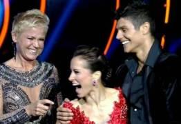 """VEJA VÍDEO: Atriz se irrita com Xuxa durante programa: """"Isso aqui não é A Fazenda"""""""