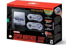 Super Nintendo será relançado em setembro e trará jogo inédito na memória