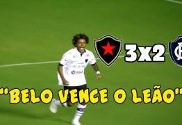VEJA VÍDEO – Botafogo-PB vence o Remo e fica em terceiro do Grupo A