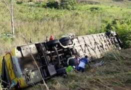 TRAGÉDIA: Acidente com ônibus da Itapemirim deixa ao menos dez mortos na BR-418