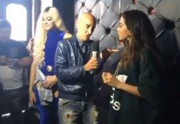 VEJA VÍDEO – Repórter ignora Pabllo Vittar e Anitta reclama