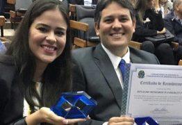 Prefeito Dinaldinho recebeu prêmio da terceira melhor gestão da Paraíba do CRA