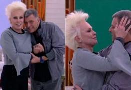 Ana Maria comemora retorno de Jorge Fernando