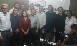 Luciano Cartaxo se reúne com lideranças políticas de Lucena