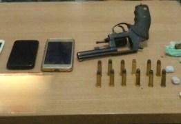 Polícia combate tráfico de drogas e porte ilegal de armas em quatro cidades paraibanas