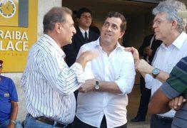 Gervásio visita obras do Paraíba Palace Hotel junto com Ricardo Coutinho