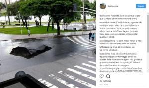 buracco lagoa 300x178 - BURACO NA LAGOA? CROCODILO EM JOÃO PESSOA? Número crescente de notícias falsas levanta alerta sobre conteúdo compartilhado na internet