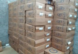 Polícias Civil e Militar apreendem carga de cigarros contrabandeada