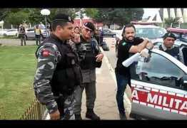 Confusão no Fórum de Souza termina em prisão de agentes penitenciários por promotor – VEJA VÍDEO