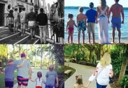 Luciano Huck registra férias da família na Itália