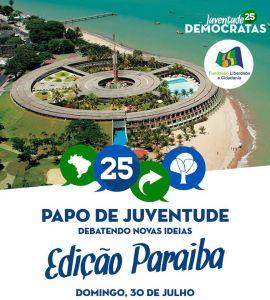 juventude democratas dem 270x300 - DEM promove Papo de Juventude em João Pessoa